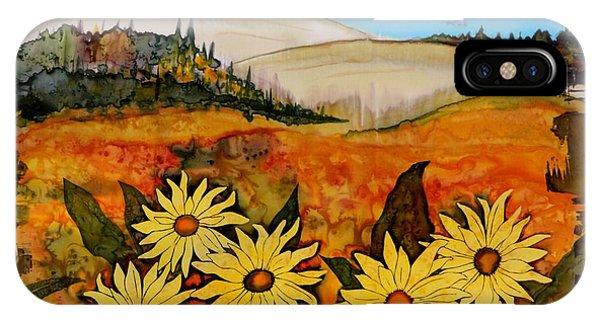 Prairie Wildflowers IPhone Case