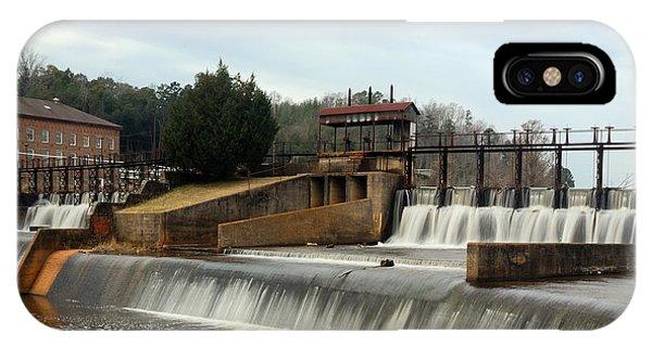Prattville Dam Prattville Alabama IPhone Case