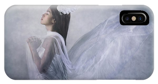 Hand iPhone Case - 'pray Of Angel' by Ryanholy