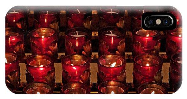 Prayer Candles IPhone Case
