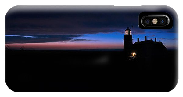 Pre Dawn Light Panorama At Quoddy IPhone Case