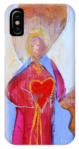 Precious Heart Angel IPhone Case
