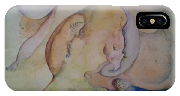 Pregnant With Desire One IPhone Case