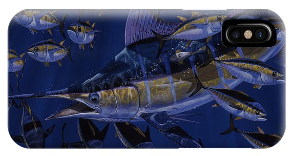 Skipjack iPhone Case - Premonition Off0063 by Carey Chen