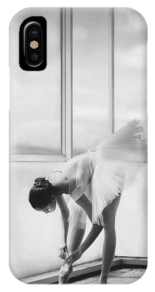 Ballerina iPhone Case - Preparation by Sebastian Kisworo