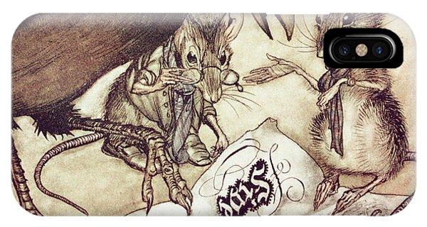 Raven iPhone Case - Preposterous Cried Solomon In A Rage From Peter Pan In Kensington Gardens by Arthur Rackham