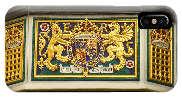 Preserving The Monarchy IPhone Case