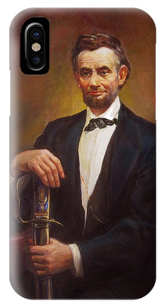 President Abraham Lincoln IPhone Case