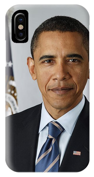 Barack Obama iPhone Case - President Barack Obama by Pete Souza