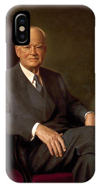 President Herbert Hoover By Elmer Wesley Greene IPhone Case