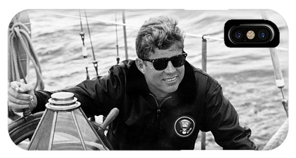 President John Kennedy Sailing IPhone Case