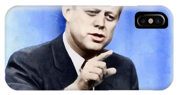 President John Kennedy IPhone Case