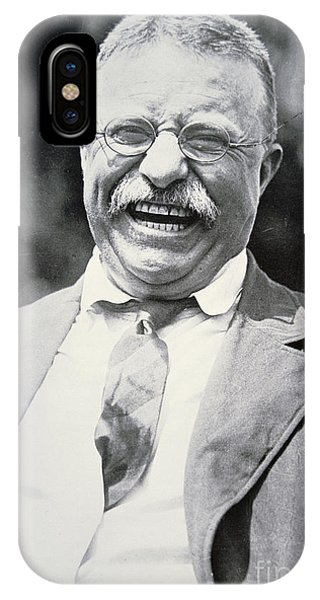 Moustache iPhone Case - President Theodore Roosevelt by American Photographer