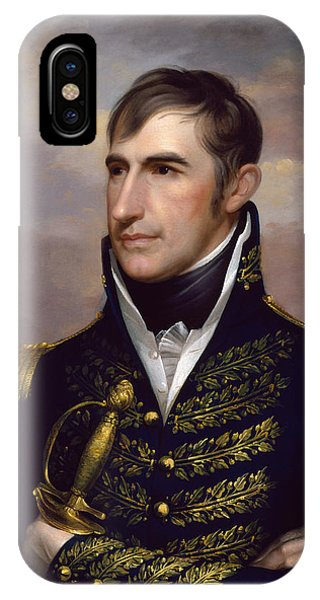 Harrison iPhone Case - President William Henry Harrison by War Is Hell Store