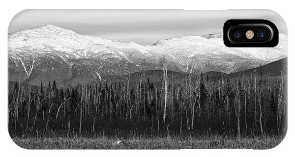 Presidential Range - Pondicherry Wildlife Refuge New Hampshire IPhone Case