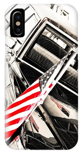 IPhone Case featuring the photograph Presidents Limo - Mike Hope by Michael Hope
