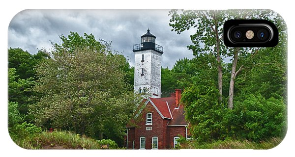Presque Isle 12079 IPhone Case