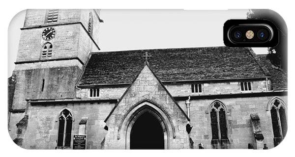 Prestbury Church Phone Case by Gemma Shipley