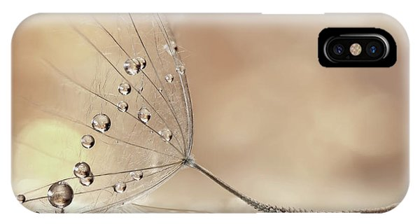 Water Droplets iPhone Case - Prestige by Rina Barbieri