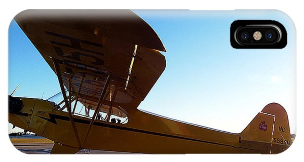 Preston Aviation Piper Cub 003 IPhone Case