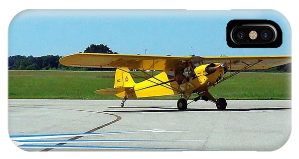 Preston Aviation Piper Cub  IPhone Case