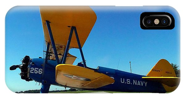 Preston Aviation Stearman 001 IPhone Case