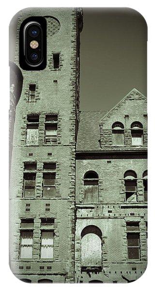 Preston Castle Tower IPhone Case
