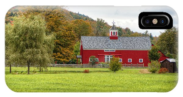 Prettiest Barn In Vermont IPhone Case