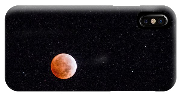 Pretty Face On A Blood Moon IPhone Case