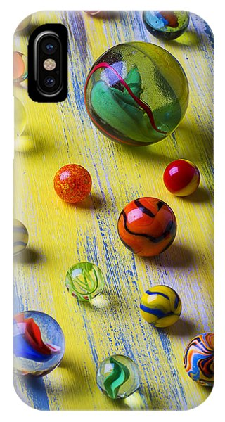 Novelty iPhone Case - Pretty Marbles by Garry Gay
