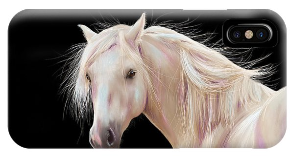 Pretty Palomino Pony Painting IPhone Case