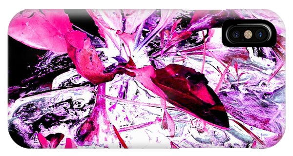 Pretty Pink Weeds 5 IPhone Case