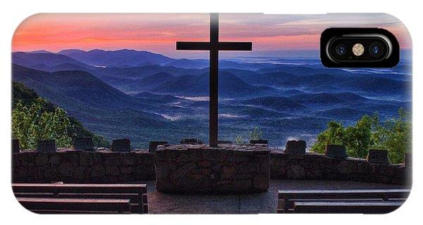 Pretty Place Chapel Sunrise IPhone Case