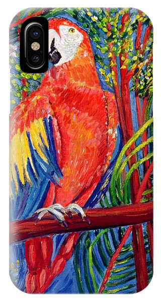 Macaw iPhone Case - Pretty Polly by Patricia Eyre
