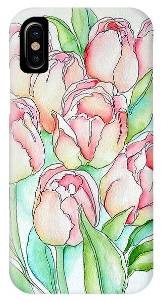 Pretty Tulips IPhone Case