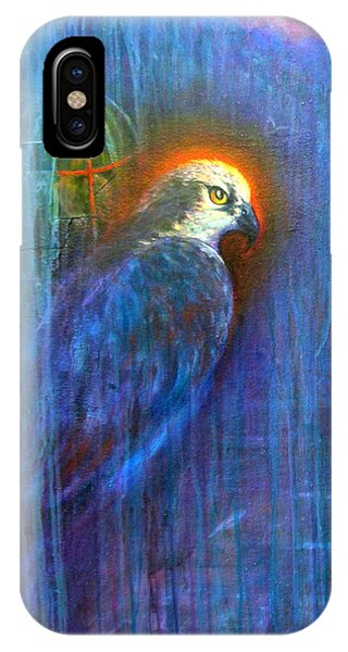 IPhone Case featuring the painting Prey by Ashley Kujan
