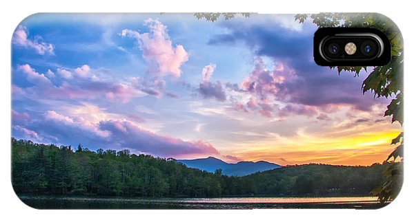 Price Lake Sunset IPhone Case