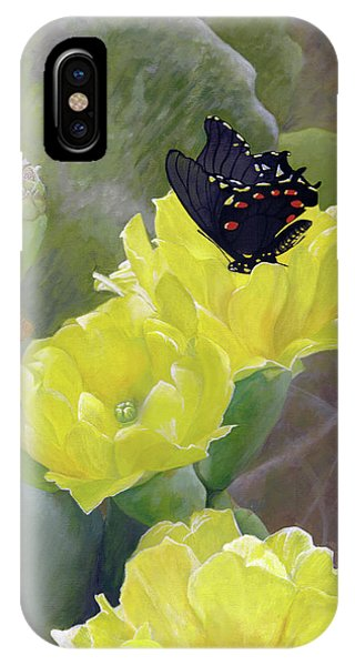 Prickly Pear Flower IPhone Case