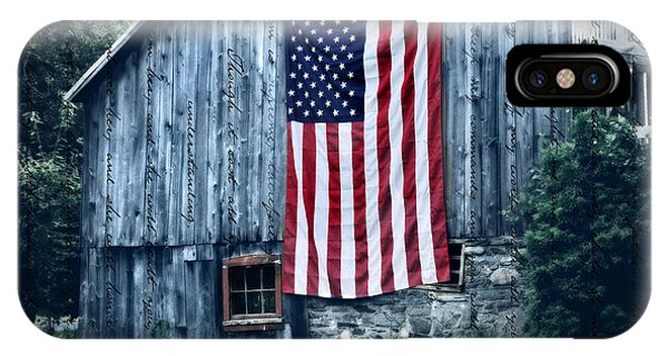 Barn iPhone Case - Pride by T-S Fine Art Landscape Photography
