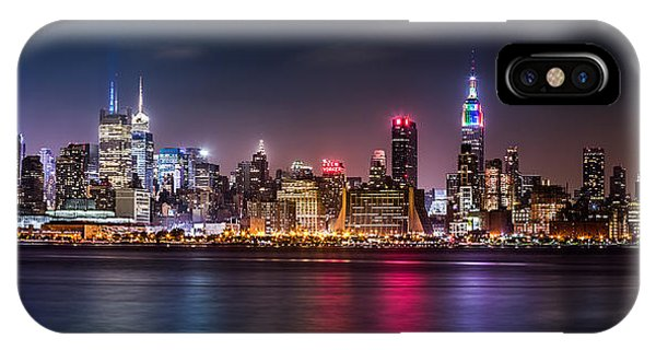 IPhone Case featuring the photograph Pride Weekend Panorama by Mihai Andritoiu