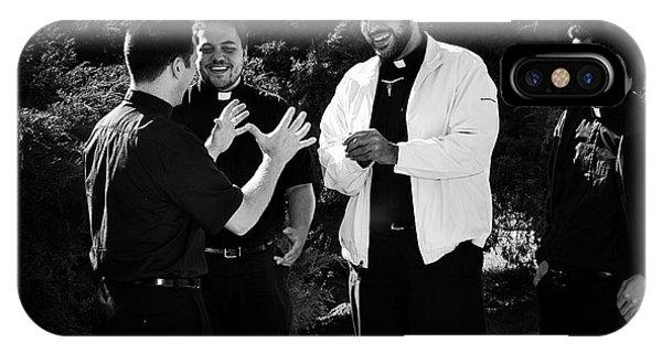 Priest Camaraderie IPhone Case