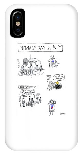 Primary Day In New York IPhone Case
