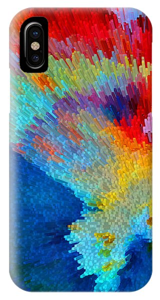Primary Colors iPhone Case - Primary Joy - Abstract Art By Sharon Cummings by Sharon Cummings