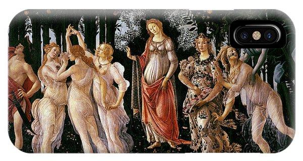 iPhone Case - Primavera Sandro Botticelli by Sandro Botticelli