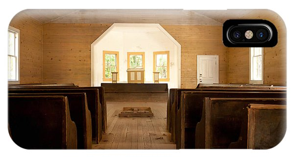 Primitive Baptist Church IPhone Case