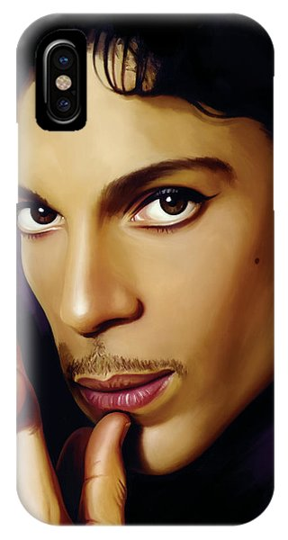 Music iPhone Case - Prince Artwork by Sheraz A