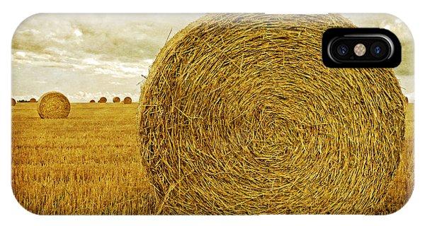 Edward iPhone Case - Prince Edward Island Pastoral Farm Fields by Edward Fielding