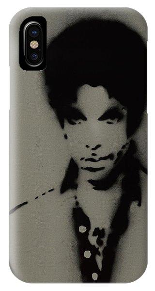Prince Spray Art IPhone Case