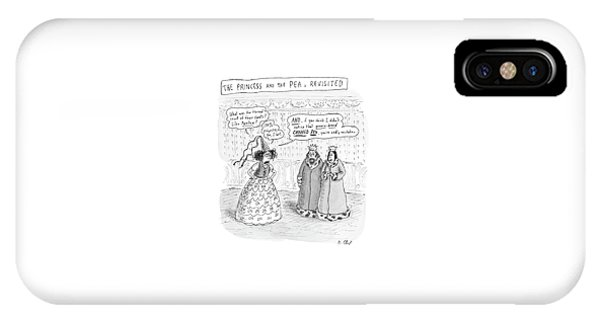 Princes Complains About Thread Count Of Sheets IPhone Case