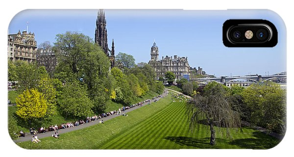 Princes Street Gardens IPhone Case